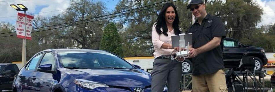 Toyota of Tampa Drone Job