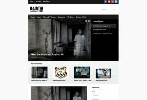haunted tours website