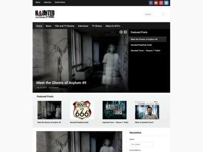 haunted tours website