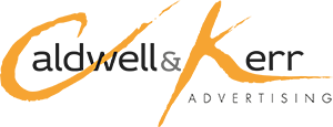 caldwell and kerr advertising logo
