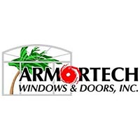 Logo for Armortech Windows and Doors Commercial Video by Flare Media Group