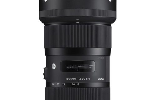 Sigma 18-35mm f/1.8 Camera Lens