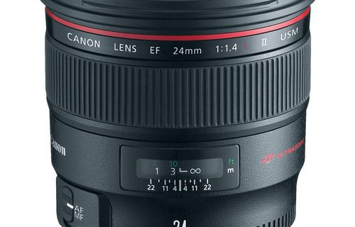 Canon EF 24mm f/1.4L Camera Lens