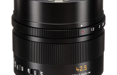 Leica DG Nocticron 42.5mm f/1.2 Camera lens