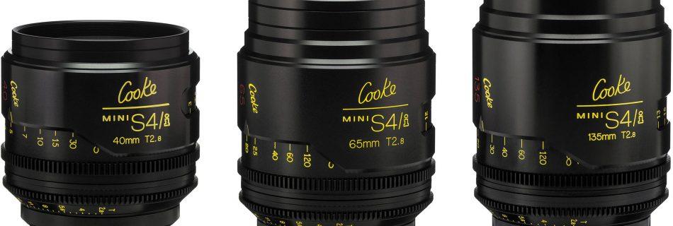 Cooke s4-1 lens set